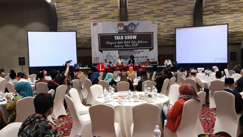 Ini Satu Kata Dari Calon Gubernur Untuk Lampung Kedepan