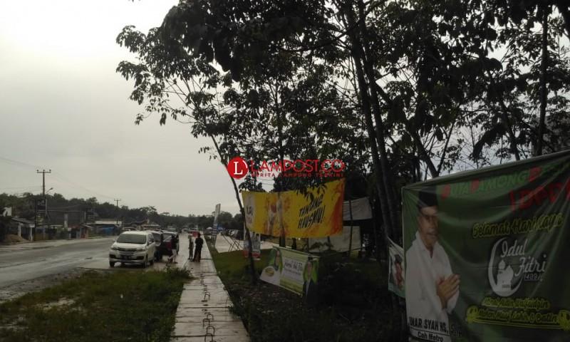 Sebelum Masa Tenang, Panwaslu Tubaba Agendakan Turunkan Banner Berbau Kampanye
