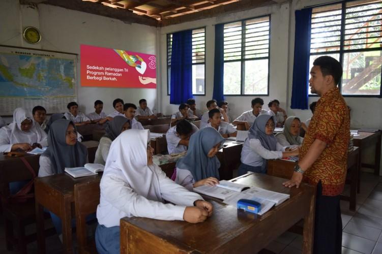 Sedekah Milenial TriRp1 Miliar Dukung Pendidikan Anak Marjinal