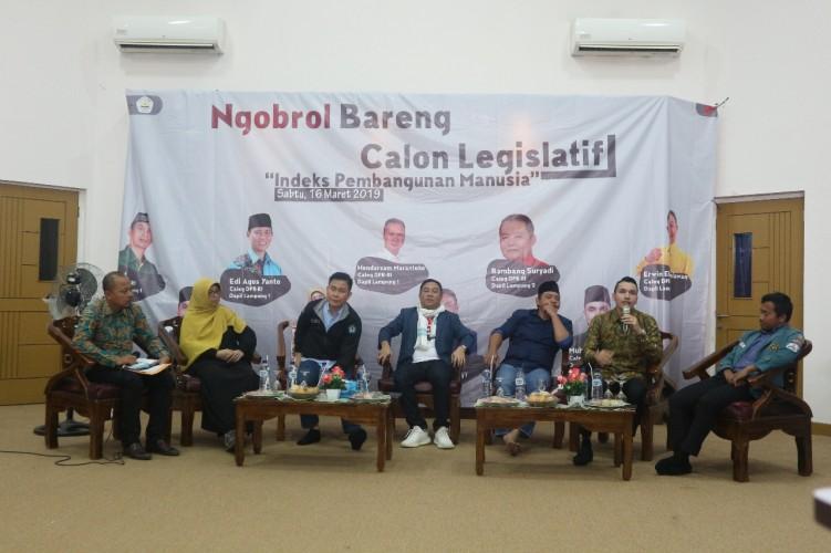 Sejumlah Caleg Soroti Rendahnya IPM Lampung