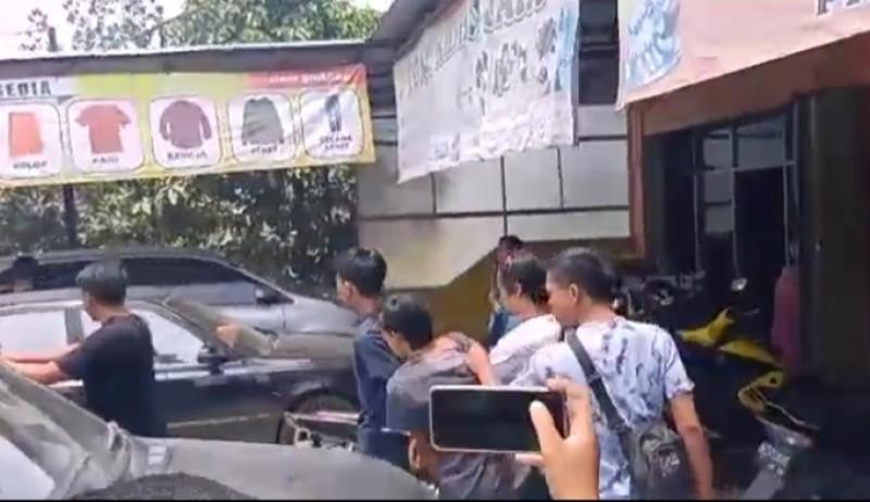 Sembilan Penyalahguna Narkoba di Pringsewu Dibekuk Polisi