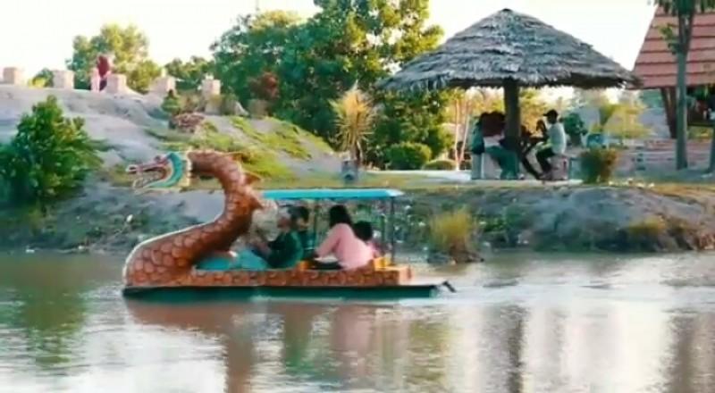 Sensasi Wisata Asri di Kampung KapukTubaba