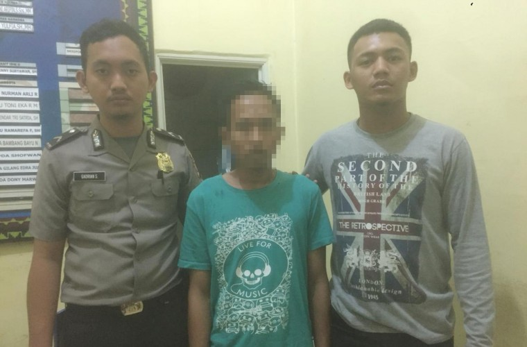 Sering Bertransaksi Narkotika, Warga Pasar Atas Ini Digelandang ke Kantor Polisi