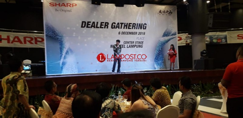 SHARP Helat Gathering Apresiasi Dealer Lampung