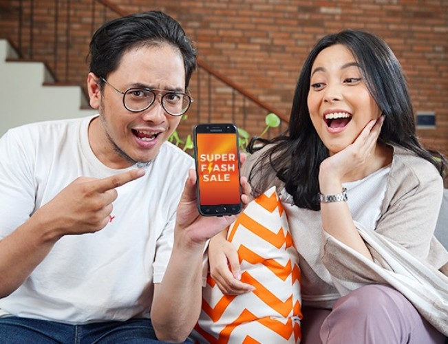 Shopee Gelar Super Flash Sale