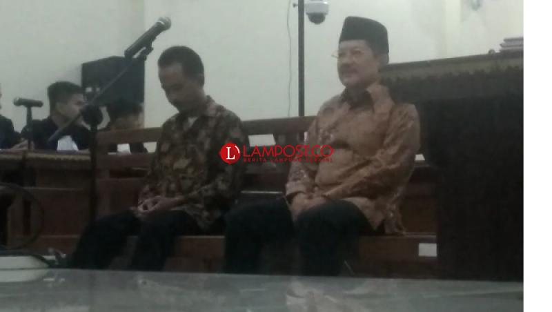 Sibron Azis dan Kardinal Divonis 27 Bulan Penjara