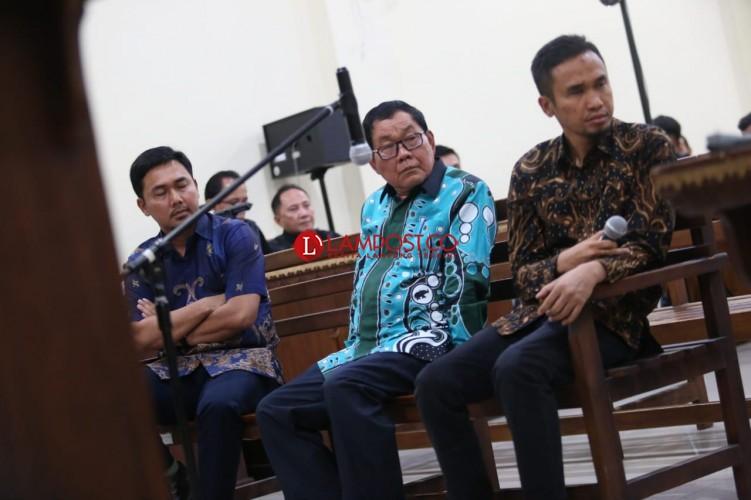 Sidang Kasus Proyek Mesuji, Kadis PUPR Mesuji Dicecar Jaksa Soal Ploting Proyek