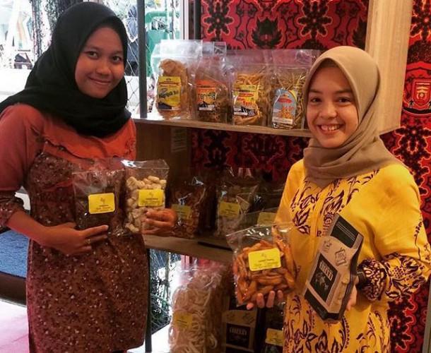 Sitang Mak Lebon, Kudapan Asli Lampung Lagi Promosi Lho