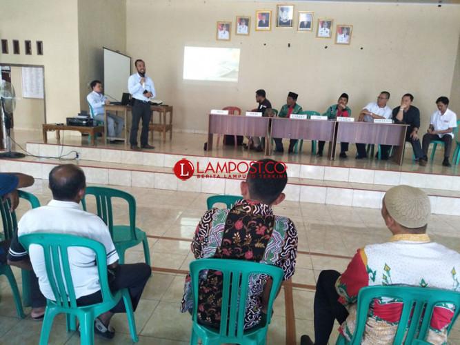 Sosialisasi Pembangunan SUTT 150 Mesuji-Dipasena