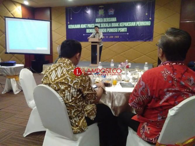 SPDB  Edward Syah Pernong  Sebut Menghormati Pendahulu dengan Bersilaturahmi