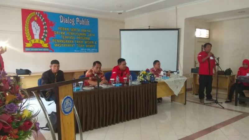 SPRI Lampung Gelar Dialog Publik
