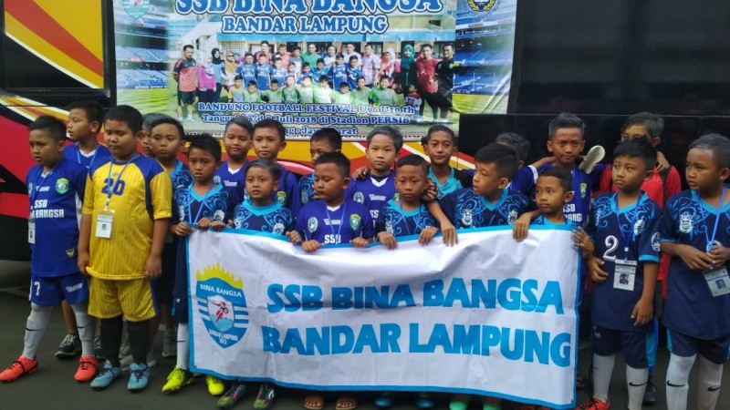 SSB Bina Bangsa Kalah di Babak Delapan Besar Bandung Football Festival