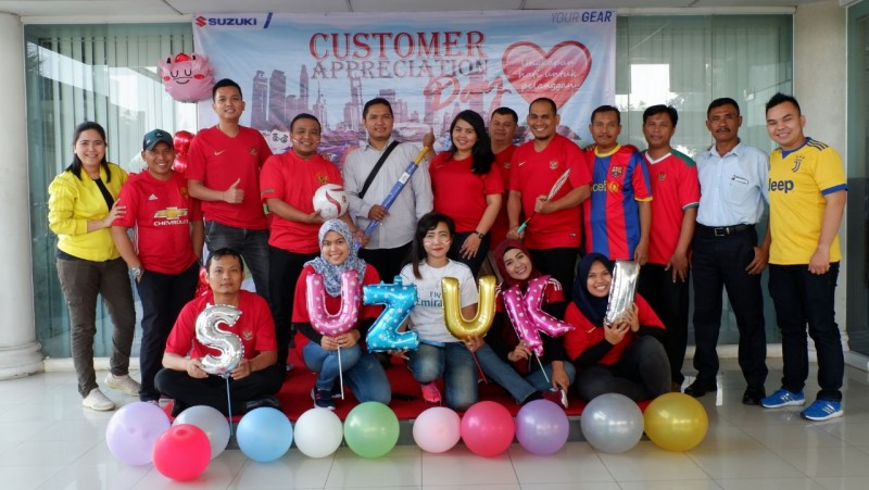 Suzuki Gelar Customer Appreciation Day