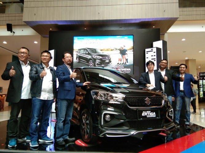 Suzuki Pasarkan 32 Ribu Ertiga di Lampung