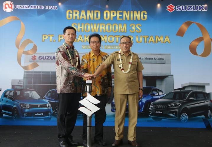 Suzuki Resmikan Outlet ke-325 di Indonesia