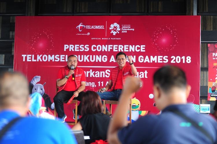 Telkomsel Optimistis Sukseskan Asian Games 2018