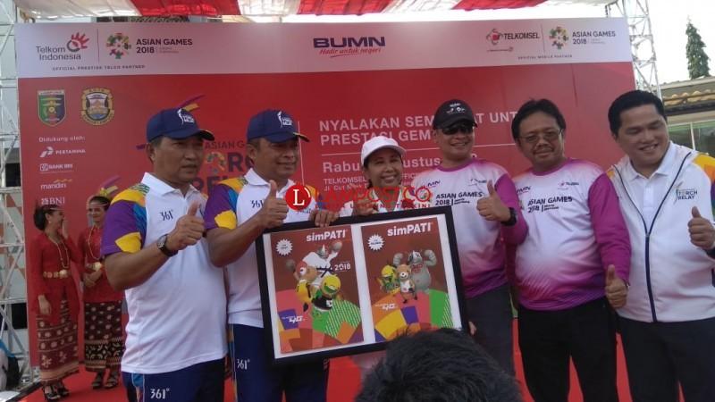 Telkomsel Resmi Luncurkan Simpati Asian Games