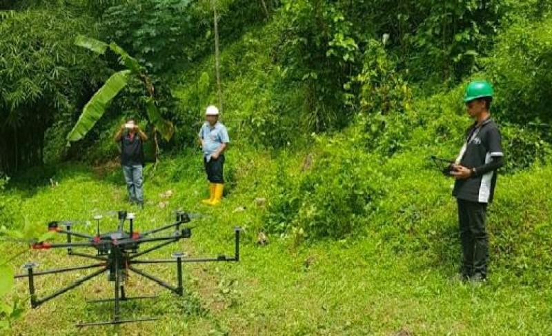 Terra Drone IndonesiaKenalkan Teknologi Lidar Lewat Proyek Percontohan