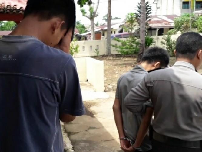 Tiga Pelaku Pembobol Rumah Dinas Kepala Rutan Kotaagung Ditangkap Polisi