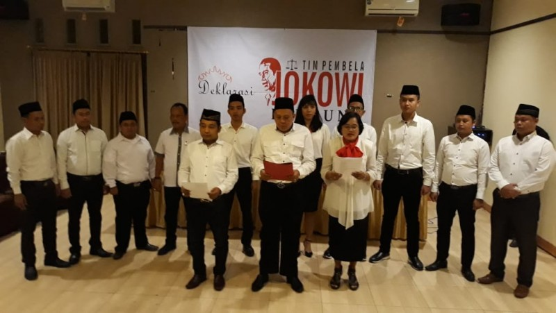 Tim Pembelaan Jokowi Lampung Dideklarasikan