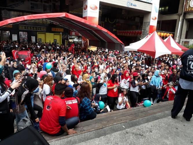 Tim Relawan Jokowi Gelar Kampanye Akbar di Taiwan