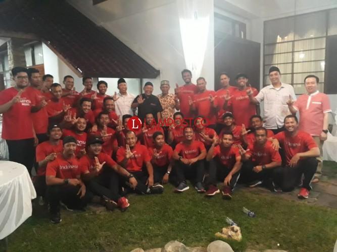 Timnas Bisbol Buka Puasa Bersama Perbasasi Lampung