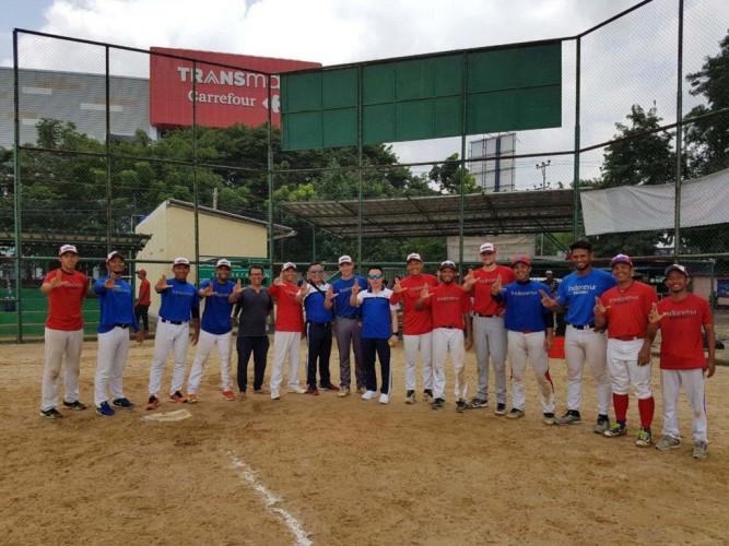 Timnas Bisbol Jajal Skuat Pra-PON Lampung