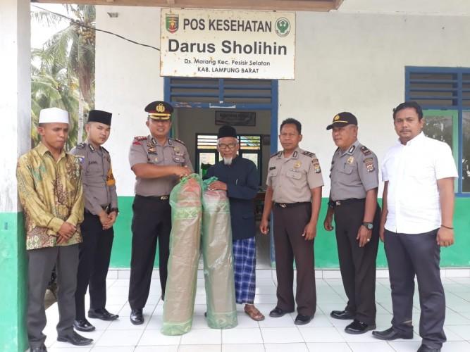 Tingkatkan Kamtibmas, Polres Lambar Kunjungi Ponpes Marang
