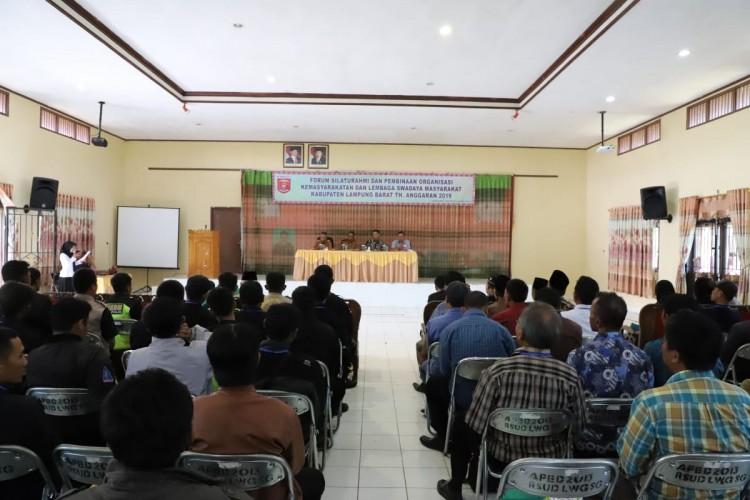 Tingkatkan Partisipasi Pembangunan, Pemkab Lambar Urun Rembug Bersama Ormas