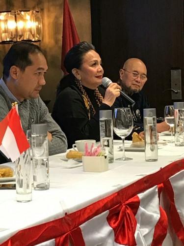 TKN Bertemu Pendukung Jokowi di New York City