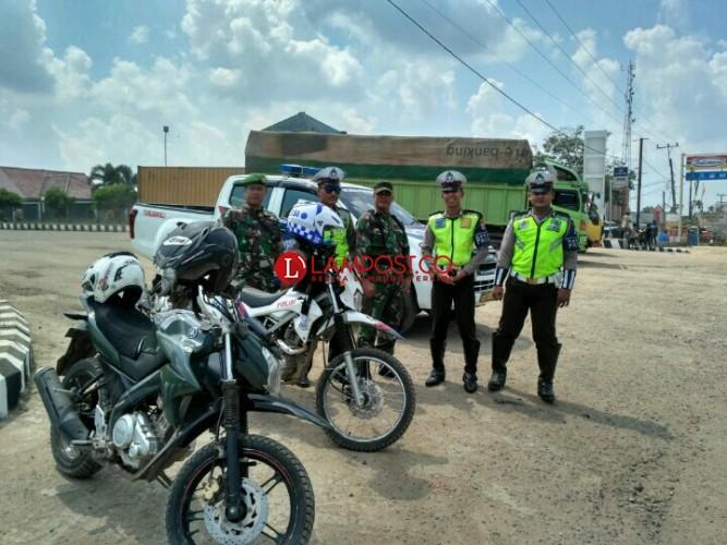 TNI Polri Mesuji Kembali Gelar Patroli Gabungan