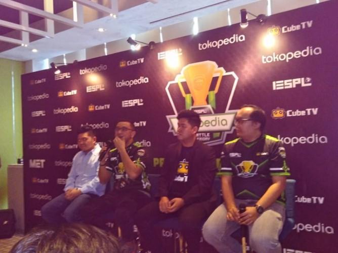 Tokopedia dan IESPL Gelar Liga Utama E-sports