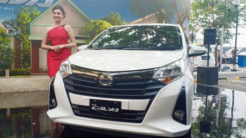 Toyota New Calya Resmi Meluncur