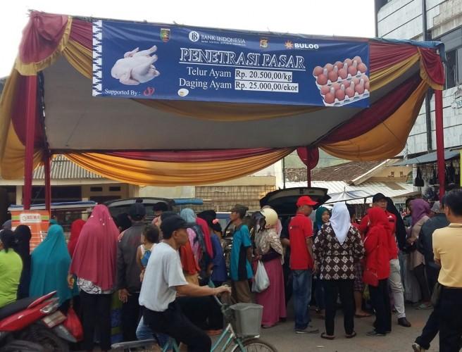 TPID Gelar Operasi Pasar di Lima Wilayah