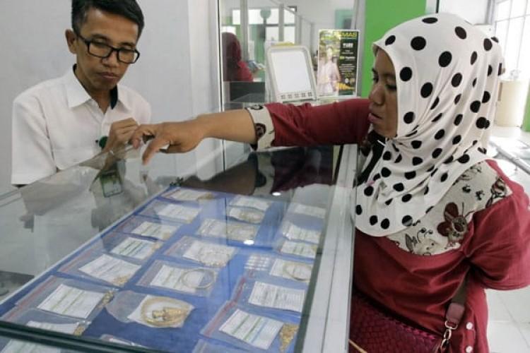 Transaksi Emas di Pegadaian Naik Tipis