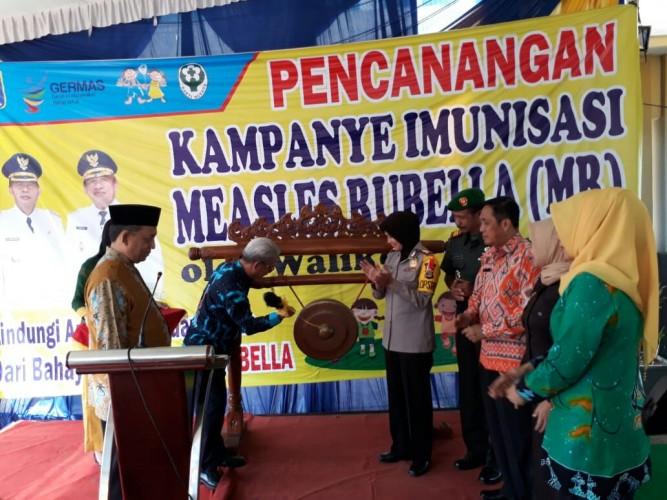 Tunggu Fatwa Halal MUI, Pemkot Metro Minta Penyuntikan Imunisasi MR Disetop