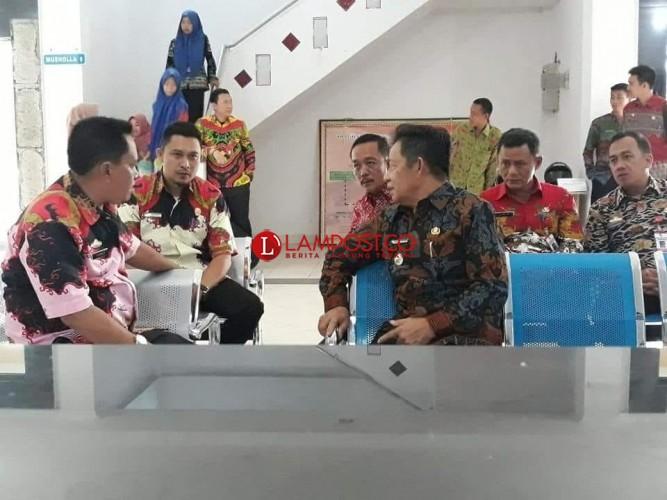 Wabub Tubaba Gelar Sidak Sekaligus Silaturahmi Lebaran ke Sejumlah SKPD