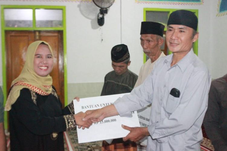 Wabup Erlina Jadikan Safari Ramadan untuk Jalin Komunikasi dengan Warga