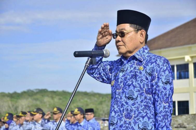 Wakil Bupati Mesuji Pimpin Upacara Hari Kebangkitan Nasional