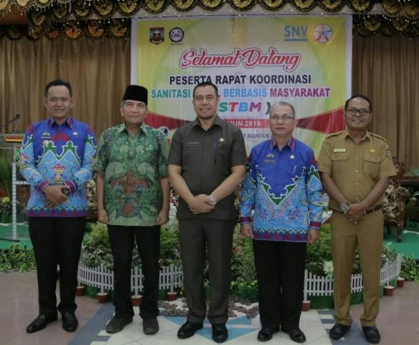 Wakil Bupati Pringsewu Hadiri Rapat Koordinasi Sanitasi Total Berbasis Masyarakat