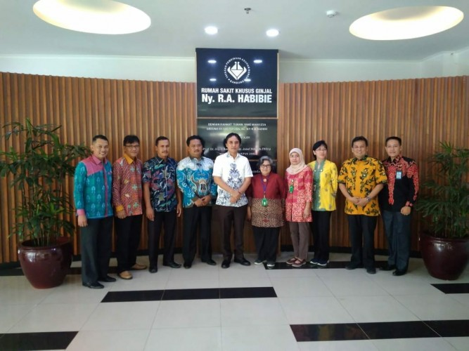 Wakil Bupati Tulangbawang Kunjungan Kerja  ke RS Ginjal Bandung
