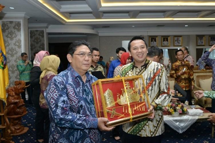 Wakil Ketua DPR RI Utut Adianto Soroti Kemajuan Lampung
