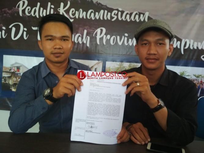 Walhi Laporkan Dugaan Reklamasi Pantai Sidodadi ke Polda Lampung