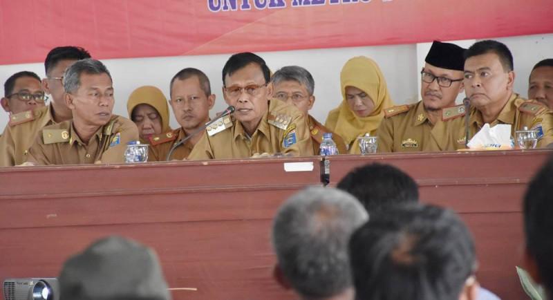 Wali Kota Metro Hadiri Musrenbang Kelurahan Banjarsari