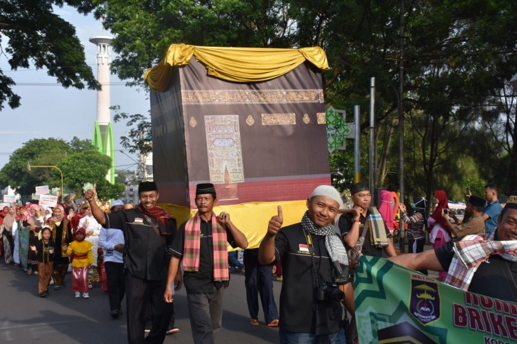 Walikota Metro Lepas Karnaval 1 Muharram