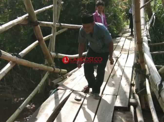 Warga 2 Pekon di BNS Harapkan Pembangunan Jembatan