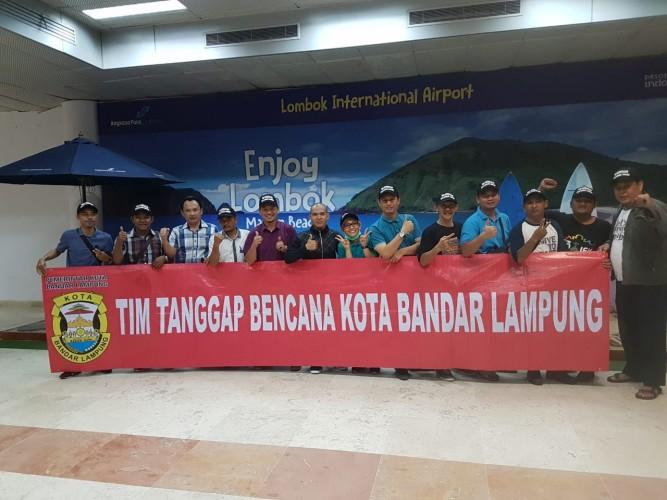 Warga Bandar Lampung Kumpulkan Ratusan Juta untuk Korban Gempa Lombok