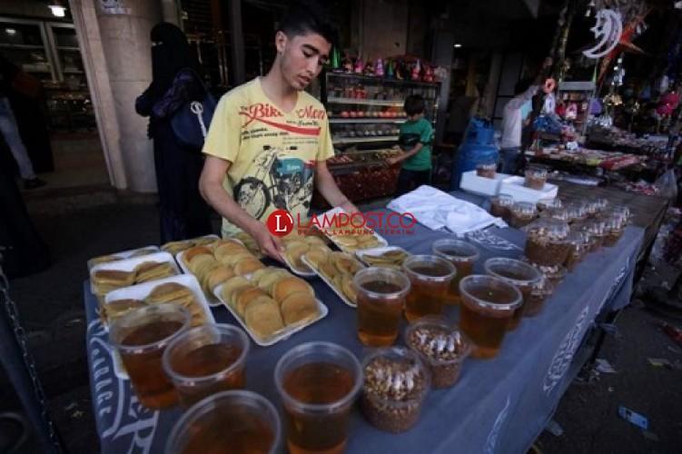 Warga Gaza Butuh Makanan Saat Ramadan