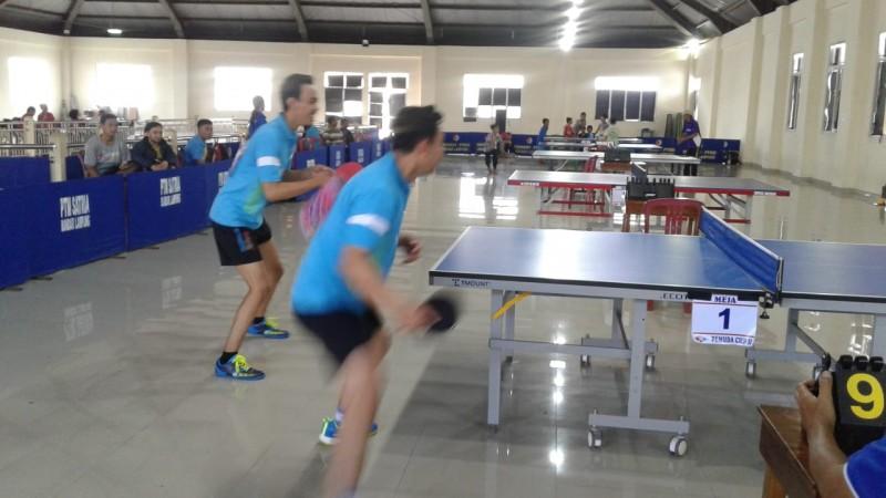 Zamp II Juarai Tenis Meja Pemuda Cup II